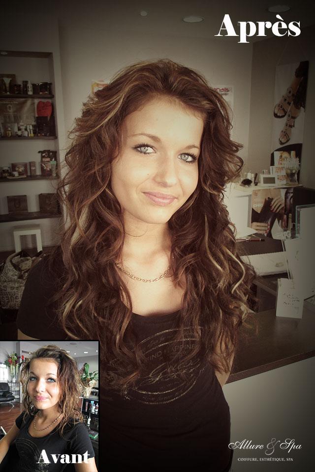 Allure et spa coiffure for Salon extension cheveux
